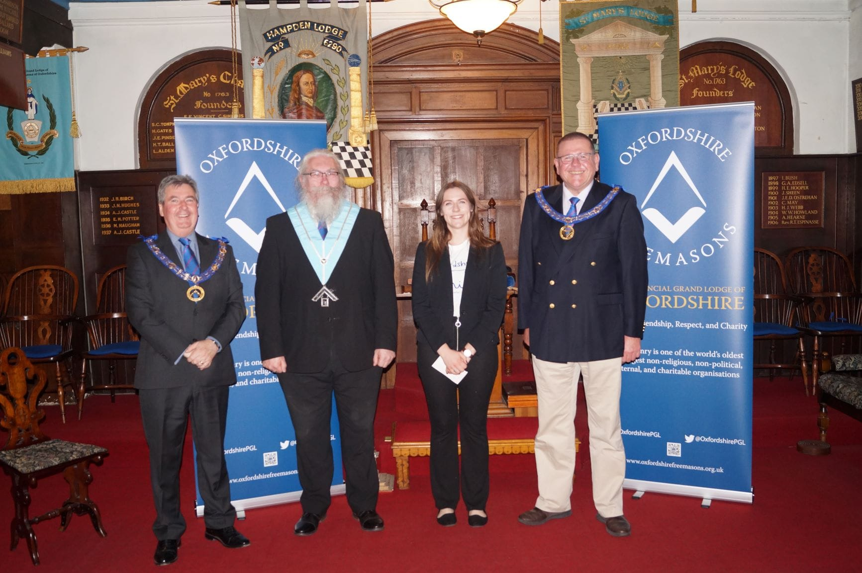 Hampden Lodge supports Oxfordshire Mind