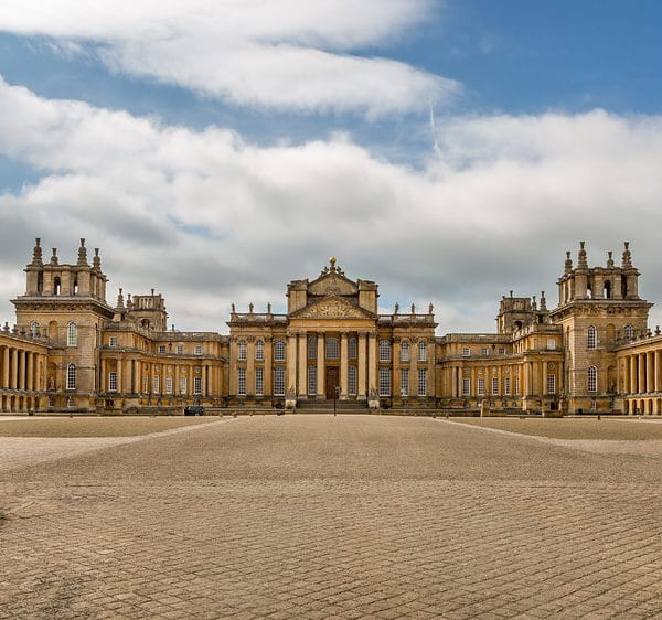 Blenheim Palace sets the backdrop for the 12-strong team of soldiers to set a new world record.